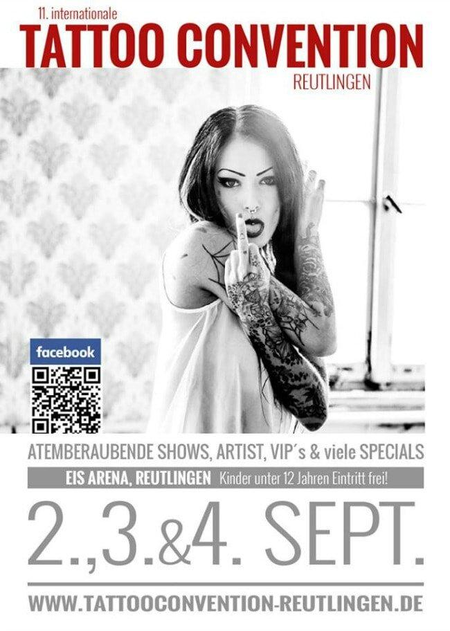 11. Tattoo Convention Reutlingen 2 à 4 Septembre 2016