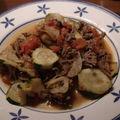 Boeuf haché aux légumes