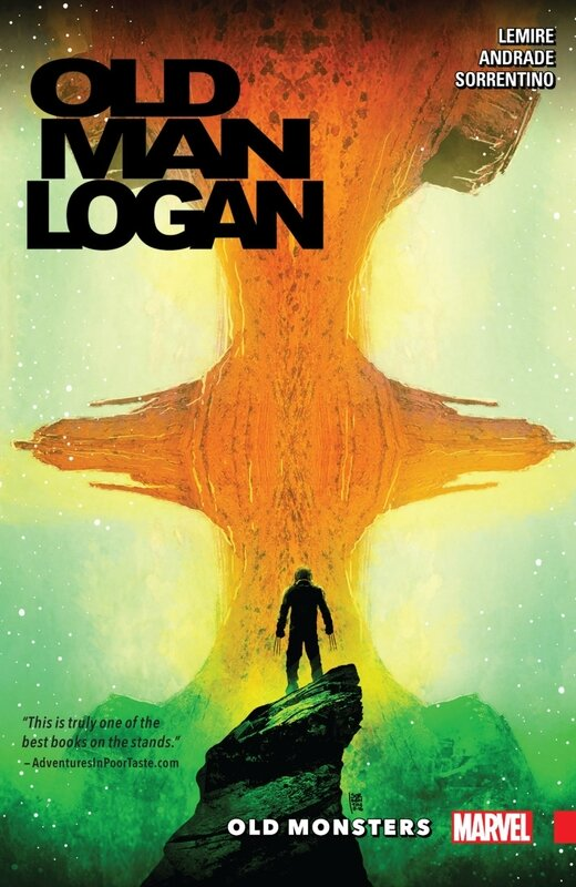 old man logan vol 4 old monsters TP