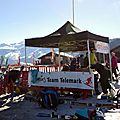 Photos de la compet championnat de france à samoëns + initiation à samoëns le 8/4