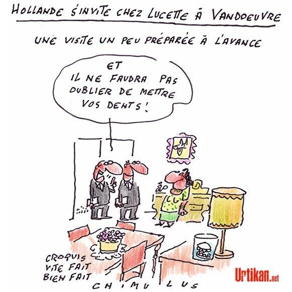 Chez Lucette de Vandoeuvre-les-Nancy comme rue du Cirque à Paris n'importe qui comprend aisément de quoi il retourne...