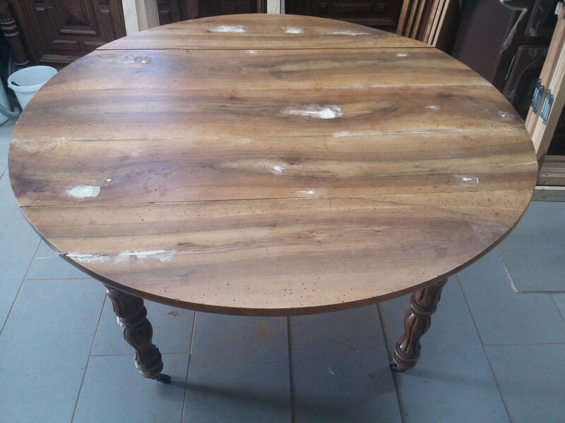 Table ronde brute 4