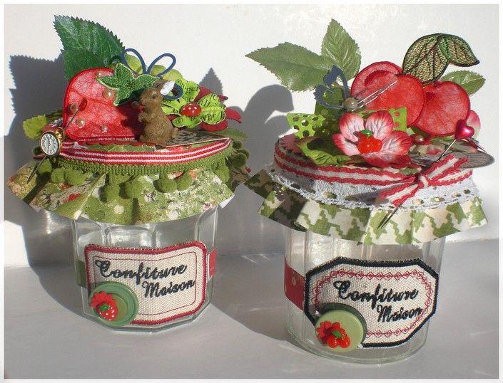 Marvelous decoration pot de confiture 5 diy scrap pot de for Decoration pot de confiture