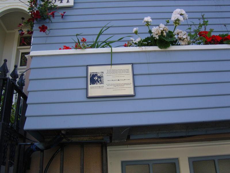 C 39 est une maison bleue for Adresse maison bleue san francisco