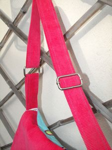 besace paris velours fuschia (6)