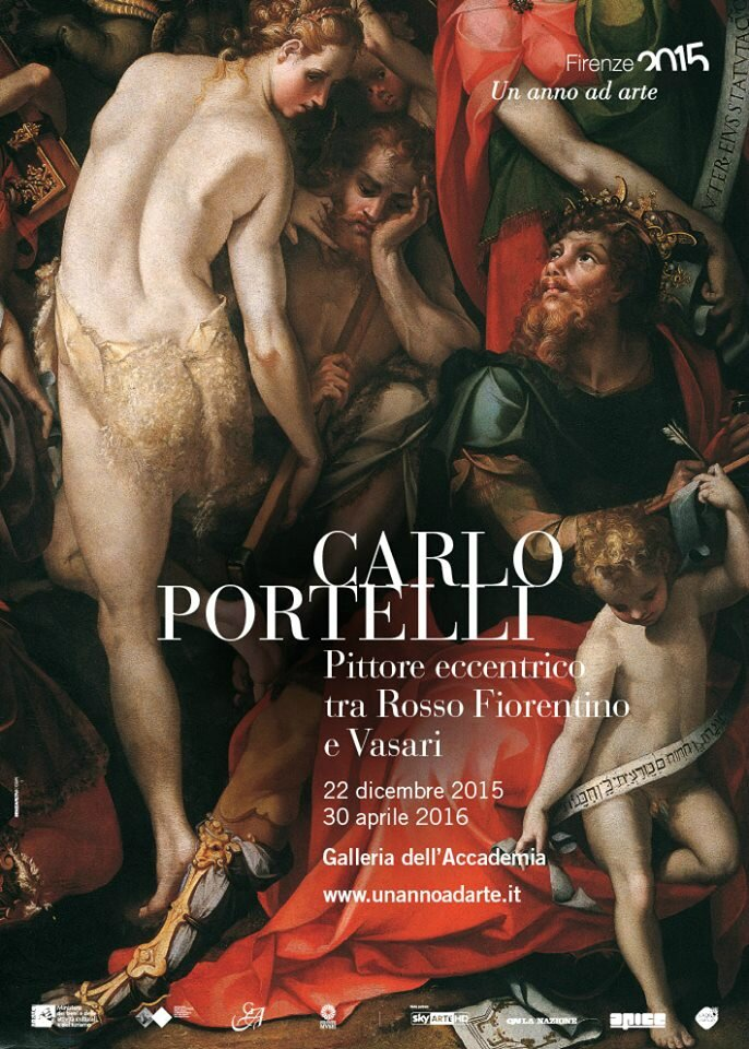 """Carlo Portelli. An eccentric painter between Rosso Fiorentino and Vasari"" at Galleria dell'Accademia, Florence"