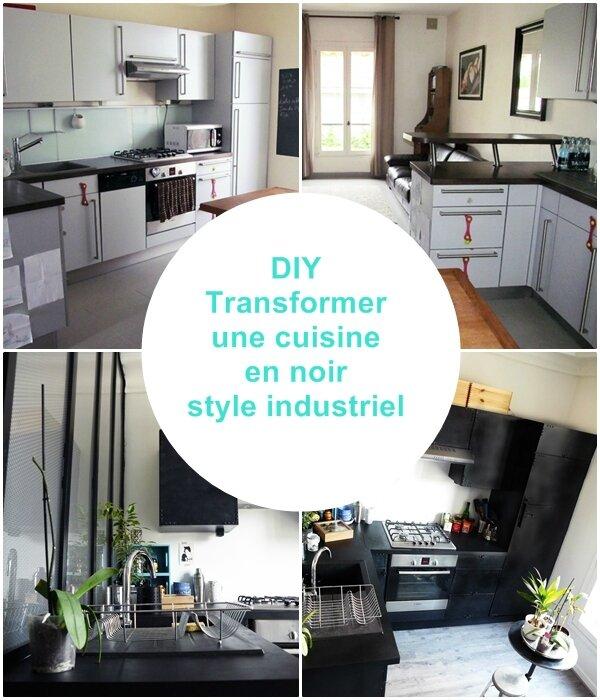 Types de cuisine types de cuisines - Cuisine style atelier industriel ...