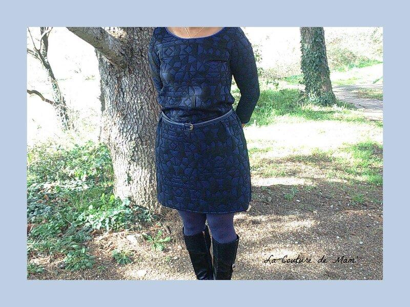 OTTOBRE, ma robe bleue et noire