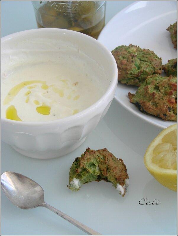 Cookies de Brocoli, Feta & Olives Noires 002
