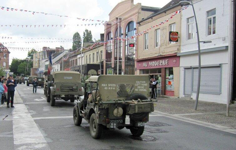 FOURMIES-Festivités Libération Fourmies 1944 011