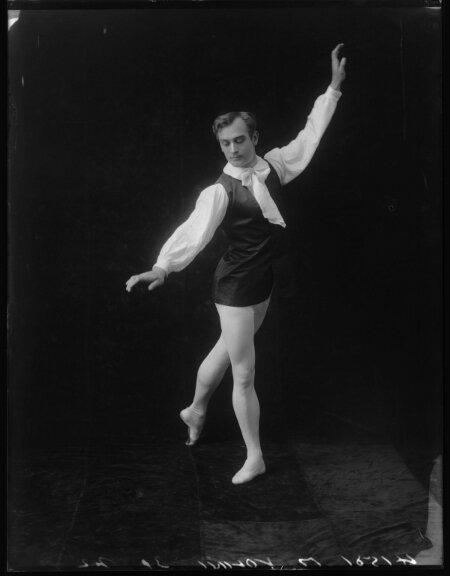 Alexander Volinine cliché Bassano vers 1912