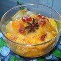 Une délicieuse compote de fruits frais et fruits séchés!