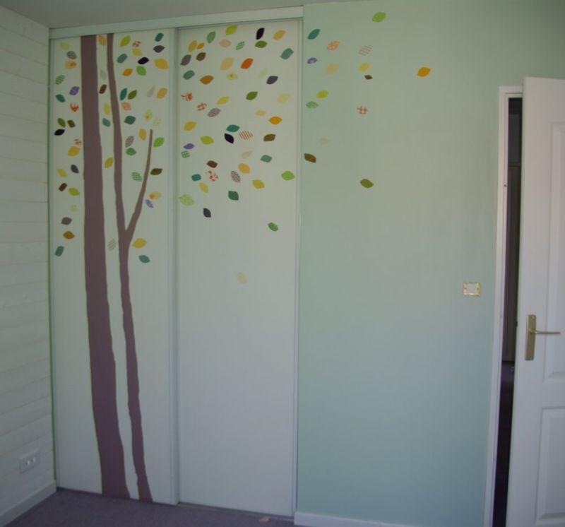 Sticker Porte Placard. Cheap Stickers Pour Porte De Chambre Miroir