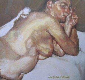 Femme nue sur un canapé 1984-85