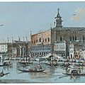Giacomo guardi (venice 1764 – 1835), the ducal palace, venice