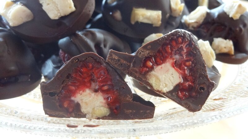 GRIGNOTAGE SUCRE CHOCOLAT FRAMBOISE 1