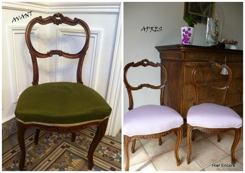 Chaise Rocaille