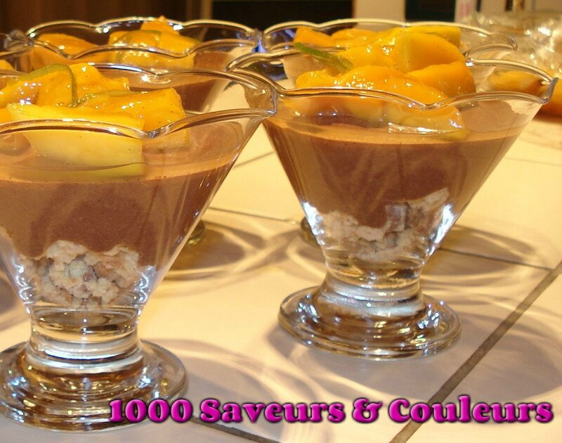 coupes choco-mangues