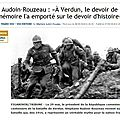 Verdun : 1 commémoration conservatrice ?