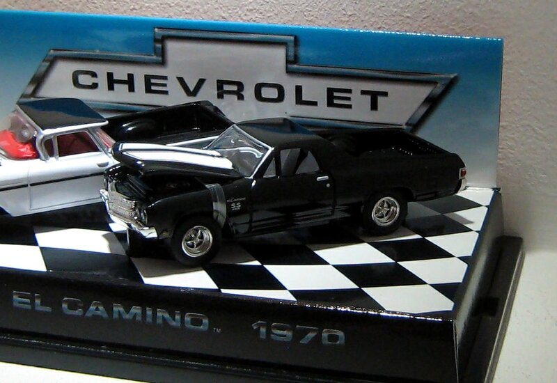 Chevrolet El camino SS 454 de 1970 (Hotwheels 1999)