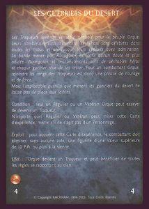 Clan Orque - les_guerriers_du_desert (experience)