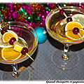 Cocktail de noël chaud