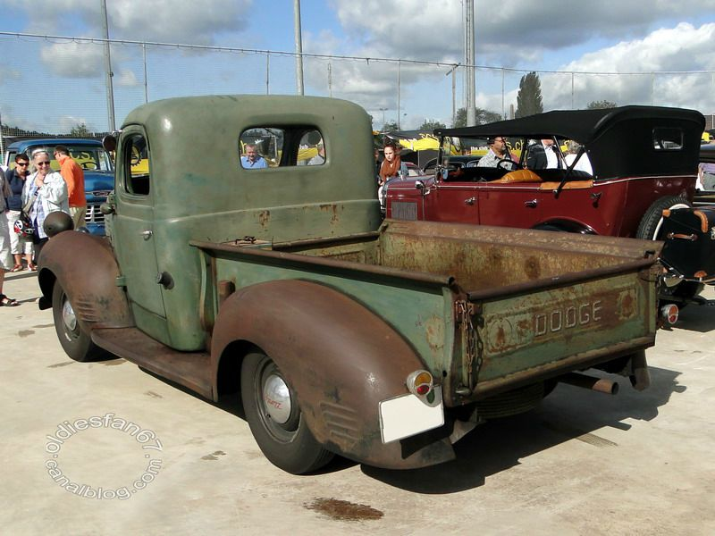 "Dodge 1/2 ton pickup, 1947 - Oldiesfan67 ""Mon blog auto"""