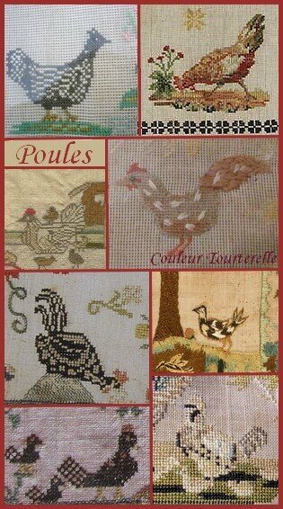 Ersilia's Sampler Attic - Couleur Tourterelle 1 6