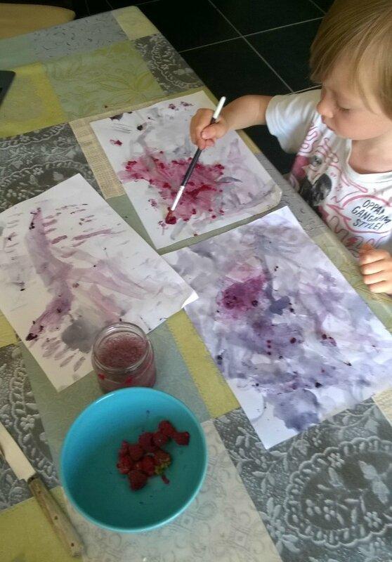 Peinture fruitée 6