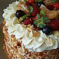 Layer cake multifruits