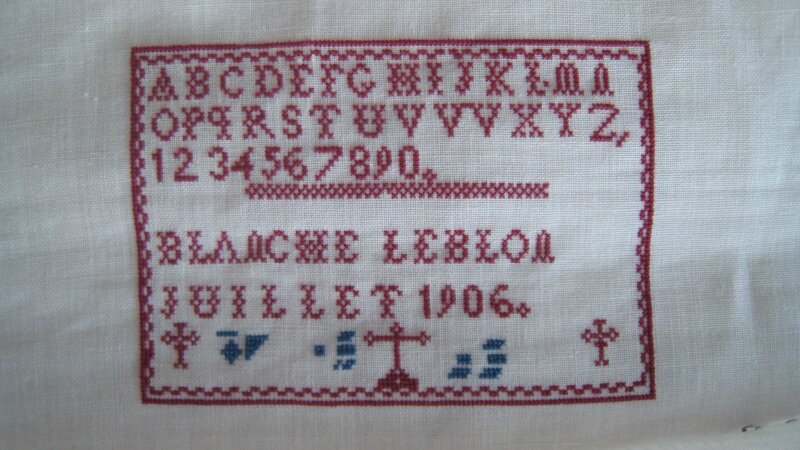 Blanche Leblon by Martine