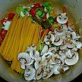 One pasta (un bon vieux plat de feignasse équilibré!)