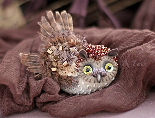Brooch-Little-Owl