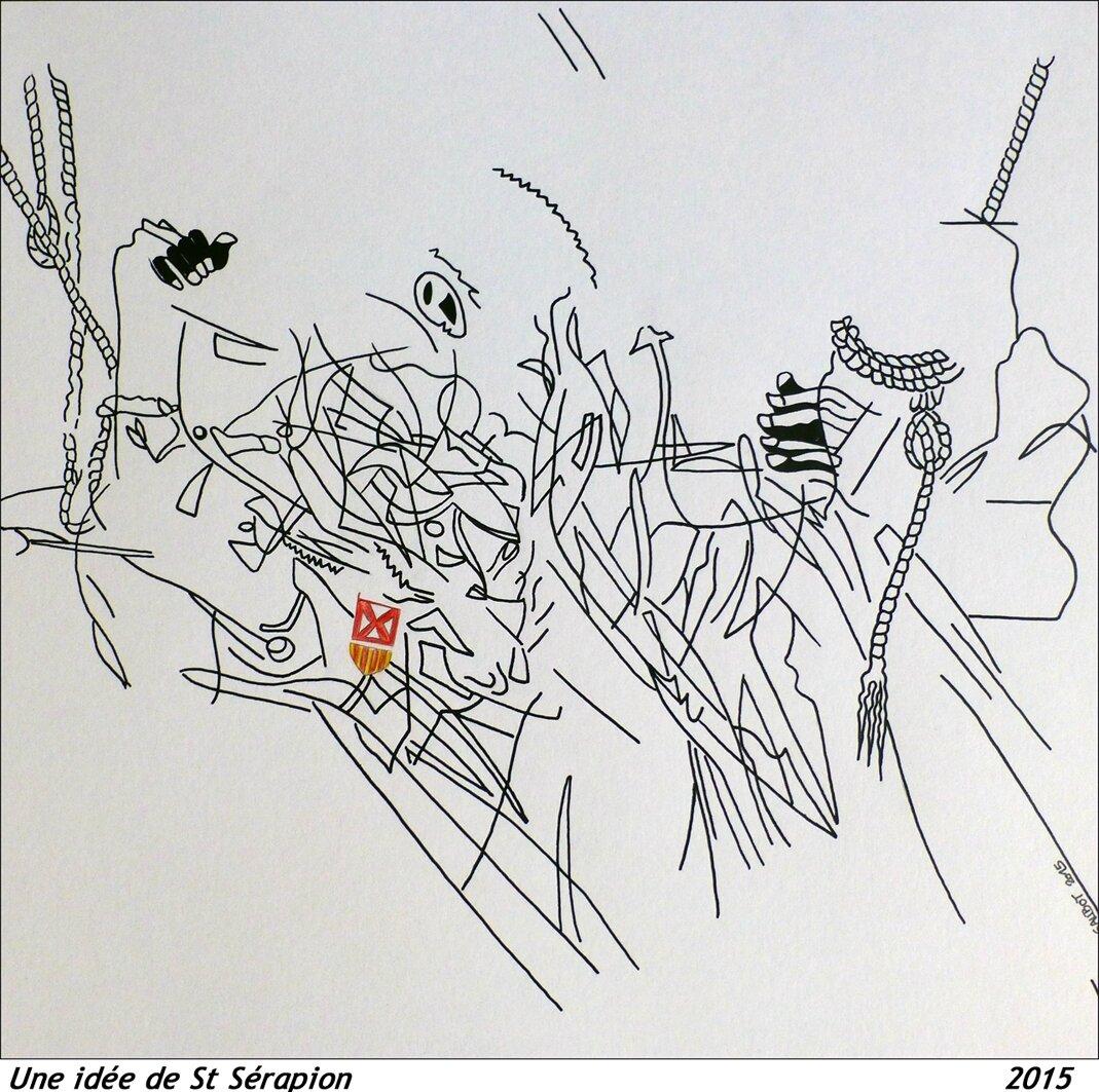 30x30 Une idée de St Sérapion1 _feutre