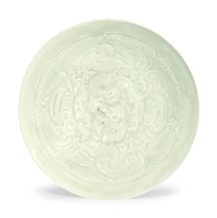 A 'Qingbai' carved 'Boys' bowl, Southern Song dynasty
