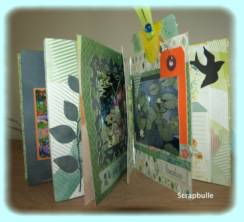 Mini-album Giverny-Scrapbulle-D