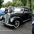 Mercedes 220 berline dcouvrable (Retrorencard aout 2011) 01