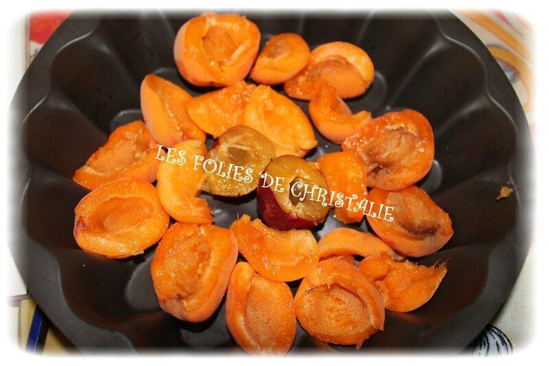 Gâteau choco abricots 1