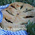 Fougasse au romarin et chorizo