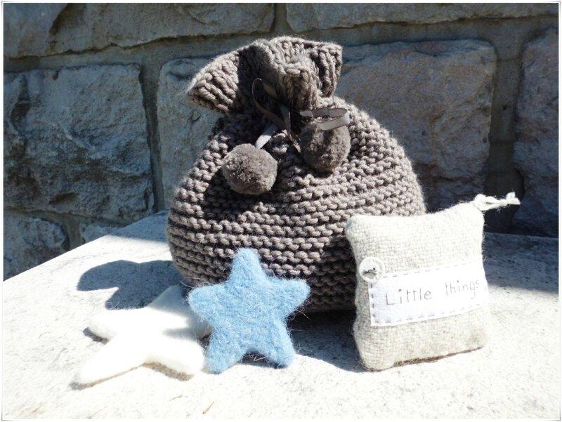 Pochon tricot