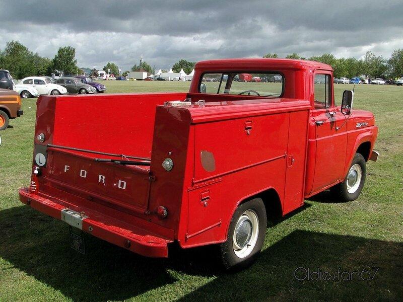 ford f100 ex firetruck 1960 b