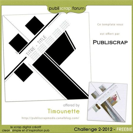 Template Challenge 2-2012 by Timounette