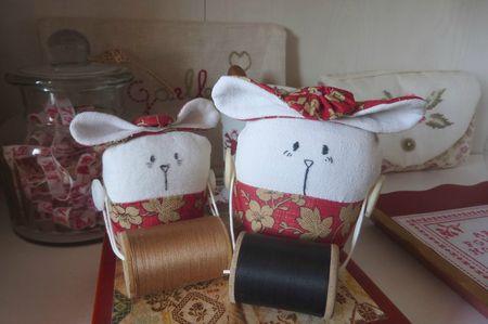 Souris porte-bobines 1 et 2