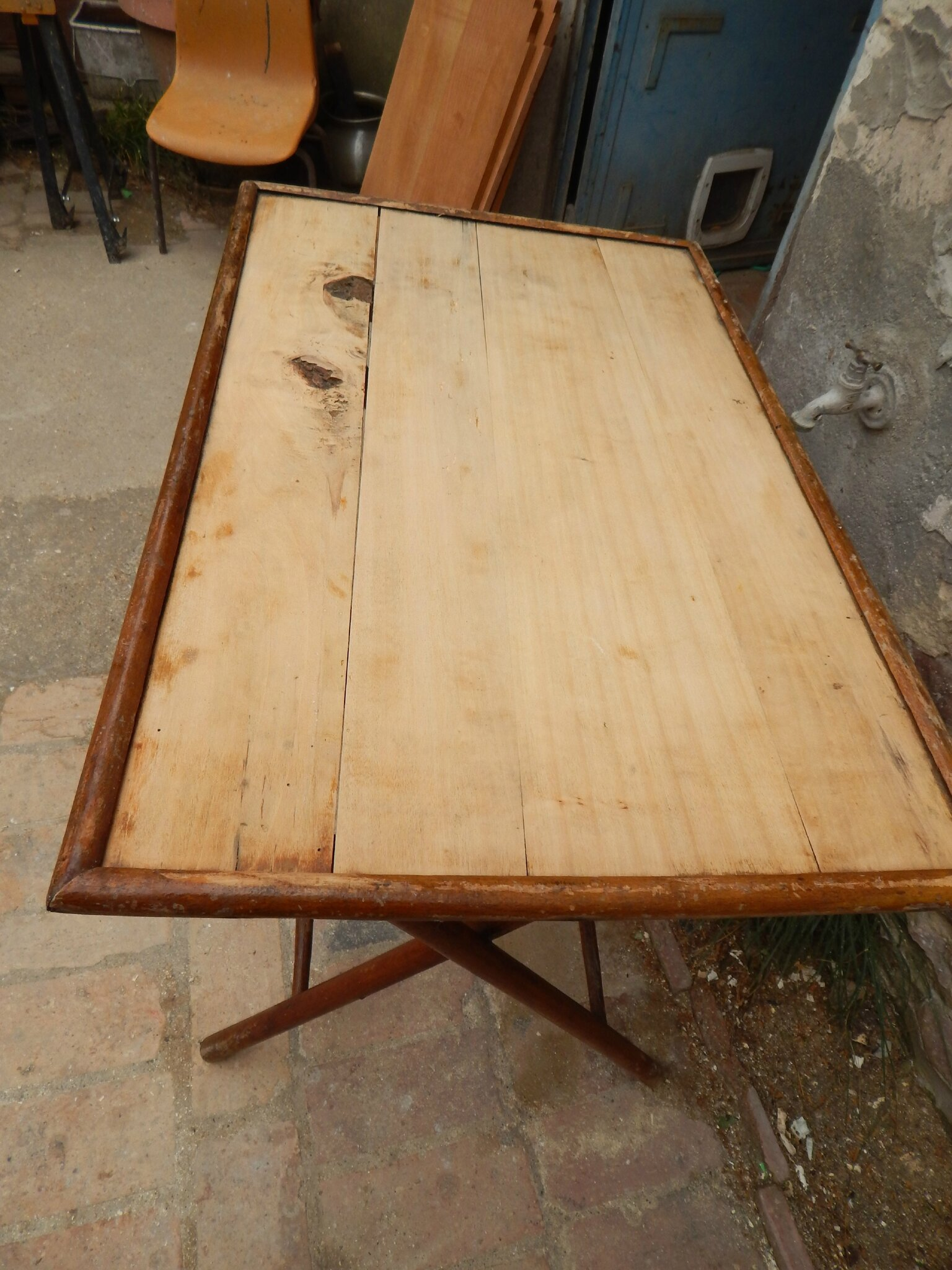 Table Basse Pliante Ancienne