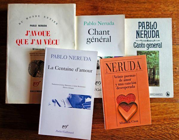 livres Neruda lieucommun
