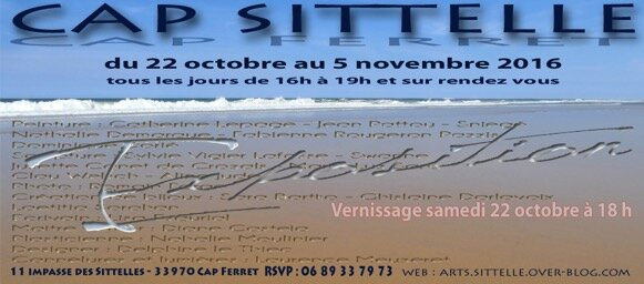invitation expopartage 2016 Cap Sittelle