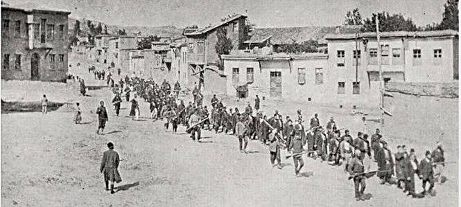 1915-deportation des armeniens