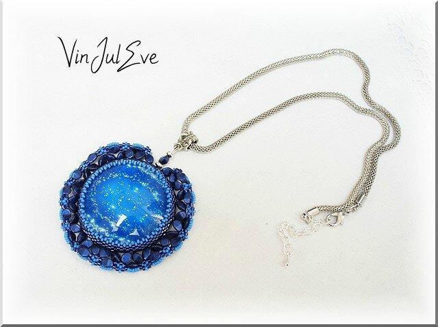 collier Aksy bleu1