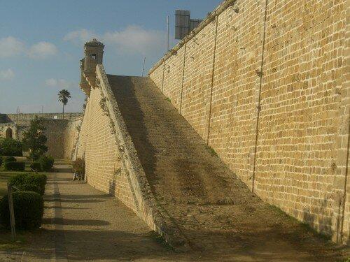 Akko, les murailles