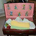 une valise relookée